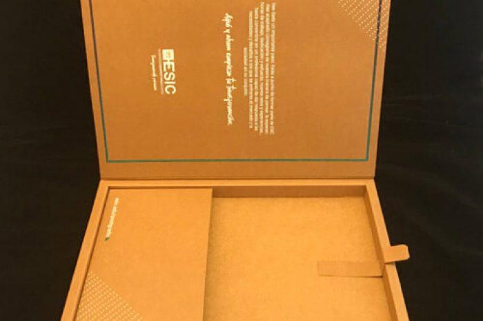 caja cartón ecológico